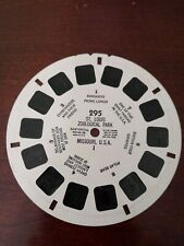 """""""St Louis Zoological Park"""". View-master #295. Used condition."""