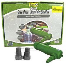 TETRA POND 9 WATT UV GREEN FREE UVC 9 GREENFREE CLARIFIER PLUS ADAPTERS