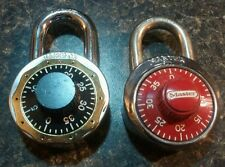 Set of Two (2) Combination Locks Master and Hampton Don't Know Combination