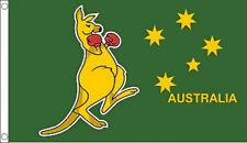 5' x 3' Boxing Kangaroo Flag Australia Australian Flags Banner