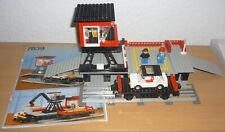 Lego Eisenbahn / City Autotransportbahnhof v. 1986 + OBA