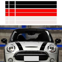 Motorhaube Aufkleber Vinyl Streifen Stripes für MINI Cooper R50 R53 R56 R55 R52
