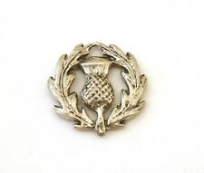 Scottish Thistle Pin Badge Tie, Hat or Lapel Pewter Brooch Gift Present 371