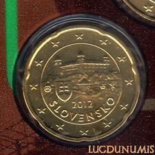 Slovaquie 2012 - 20 Centimes d'Euro 23 000 exemplaires Provenant du coffret BU R