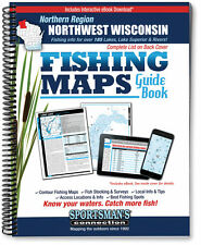 Northwest Wisconsin: Northern Region Fishing Map Guide | 2016 Edition - SCMaps