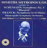 MITROPOULOS Dimitri - Dimitri Mitropoulos conducts Schumann & Franck - CD Album