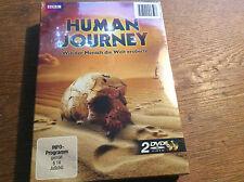 Human Journey - Wie der Mensch die Welt erobert  [2 DVD Box] NEU OVP BBC