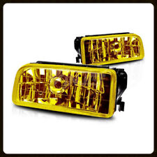 1992-1998 BMW E36 3 SERIES OEM REPLACEMENT FOG LIGHTS LAMPS CRYSTAL YELLOW LENS