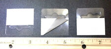 Lot Of 400 (Heavy Duty!) Hang Tabs Self Adhesive Clear Plastic Hanger Tags Hook