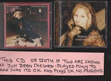 Barbra Streisand Higher Ground (1997) and The Broadway Album TWO CD Albums