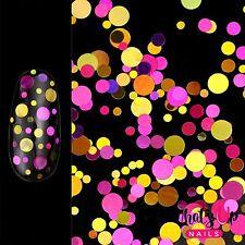 Flower Confetti Glitter for Nail Art Design