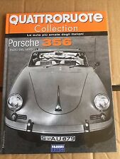 """QUATTRORUOTE COLLECTION """" PORSCHE 356 """" FABBRI EDITORI FASCICOLO"""