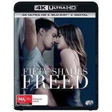 BRAND NEW Fifty Shades Freed (4K Blu-Ray, 2018) *PREORDER Movie 3 Of Grey Darker