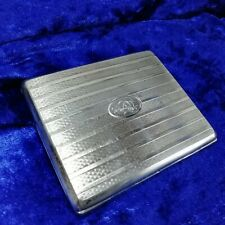 Cigarette Case Box German Silver 935 ~ Ernst Gideon BEK Butterfly Mark - 81g