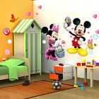 Mickey Minnie Mouse Wall Stickers Removable Vinyl Decals Kids Nursery Decor Art