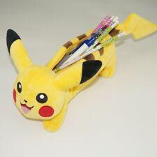 Pokemon Pikachu School Pen Pencil Box Case Bag Pouch Pikachu plush pencils Bag
