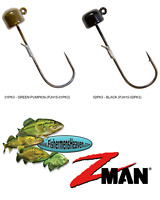 Z-MAN Jigheads ShroomZ 1/5oz Finesse Power NED Rig (PJH15) Any 2 Colors