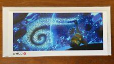 Exclusive Disney Pixar Wall E Crew Gift Poster Rare