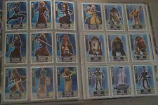 Star Wars Force Attax series 2 + 4 (animated) complete sets - no original binder