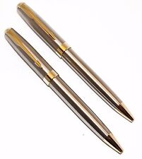 Stainless Steel and Gold Police Detective/Executive Pens