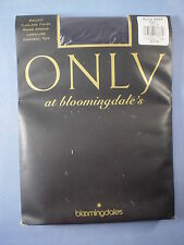 Bloomingdale's Style 9250 Micro Opaque Longline Pantyhose Size B in Night
