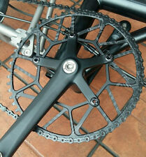 Ultra Lightweight 58T Chainring For BROMPTON Black 103g