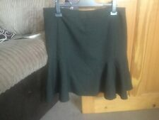 Next size 18 skirt black with white dots New with tags