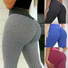 Women Push Up Yoga Leggings Pants High Waist Anti-Cellulite Sport Fitness Gym C7