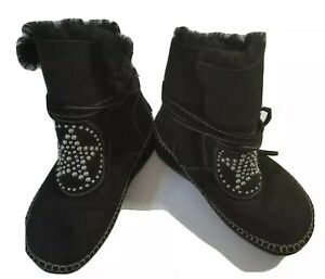 Anna Sui Limited Edition Fitflop Shakoha Star Studded Boots - U.S. 7 - Black
