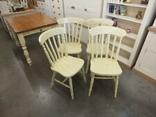 X1 PAINTED SLAT-BACK CHAIR CHOICE OF COLOURS FARROW & BALL DORSET CREAM