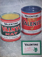 PUBLICITÉ DE PRESSE 1961 VALENTINE PEINTURES VALNYL ET VALENITE - ADVERTISING