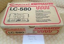 Knit master / silver reed electronic lace carriage LC 580 for knitting machine