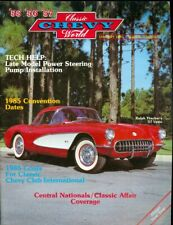 1985 Classic Chevy World Magazine: Ralph Thacker '57 Vette/Power Steering Pump