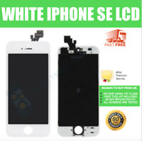For iPhone SE LCD Digitizer Replacement Screen Genuine OEM Touch White A1723 UK
