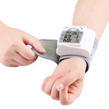HOT LCD Digital Wrist Blood Pressure Monitor Heart Beat Rate Pulse Meter Measure