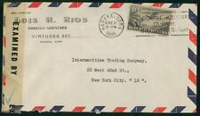 Mayfairstamps Habana 1945 Censored to US New York City Airmail cover wwo1381