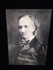 "Gaspard Nadar ""Charles Baudelaire 1863"" 35mm Early French Photography Slide"