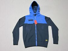 G STAR MENS DEAN VEST HOODED KNIT JACKET L/S SWEATSHIRT HOODIE SIZE LARGE NEW