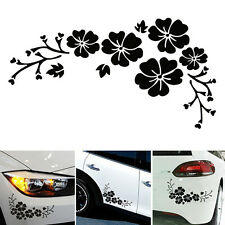 Engraving FLOWER Prints Sticker Decal Car Window Wall Bumper Decor Gift