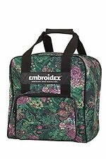Floral Serger Sewing Case Carrying Tote NEW
