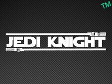 JEDI KNIGHT Funny Star Wars Car Sticker Vinyl Decal ipad tablet laptop gaming pc