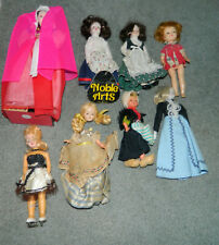 Vintage Collection 8 International Ethnic Dolls w/Clothes with Penny Brite Doll