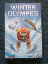 Winter Olympics cassette tape by Tynesoft for the BBC Micro & Acorn Electron