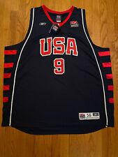 Rare Reebok USA Lebron James 9 Authentic Jersey Dream Team Redeem Team Olympics