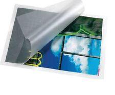 100 Pouches Lucido Fogli A3 per plastificatrici a caldo spessore 2 x 80 micron