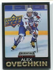 2019-20 UD Credentials Alex Ovechkin Pro Visions Alexander The Great #4 CASE HIT
