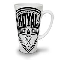 Royal Fear Crown Slogan NEW White Tea Coffee Latte Mug 12 17 oz | Wellcoda