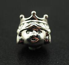 Original PANDORA elemento charm 791960 cuentos de hadas princesa nuevo 925 Sterling plata