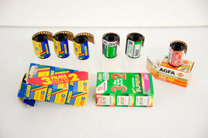 Expired 200 ISO 35mm film - 6 Rolls - Jacobs + Fuji Superia +  AGFA