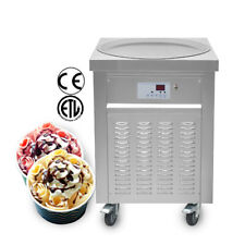 ETL 22''(55cm) Single round pan fried ice cream machine rolled ice cream machine
